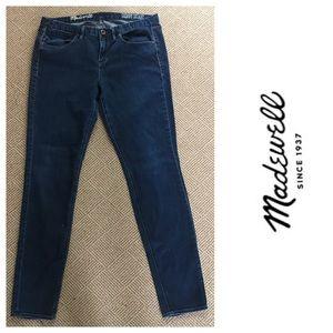Madewell Skinny Skinny Blue Jeans